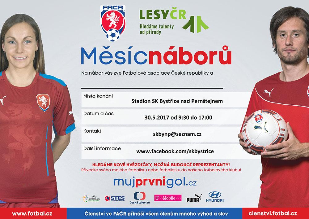"""Pozvánka na Sportovní """"Den dětí"""" s SK Bystřice nad Pernštejnem"""